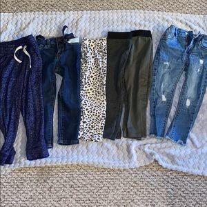 Size 3T Pants Lot Various Brands